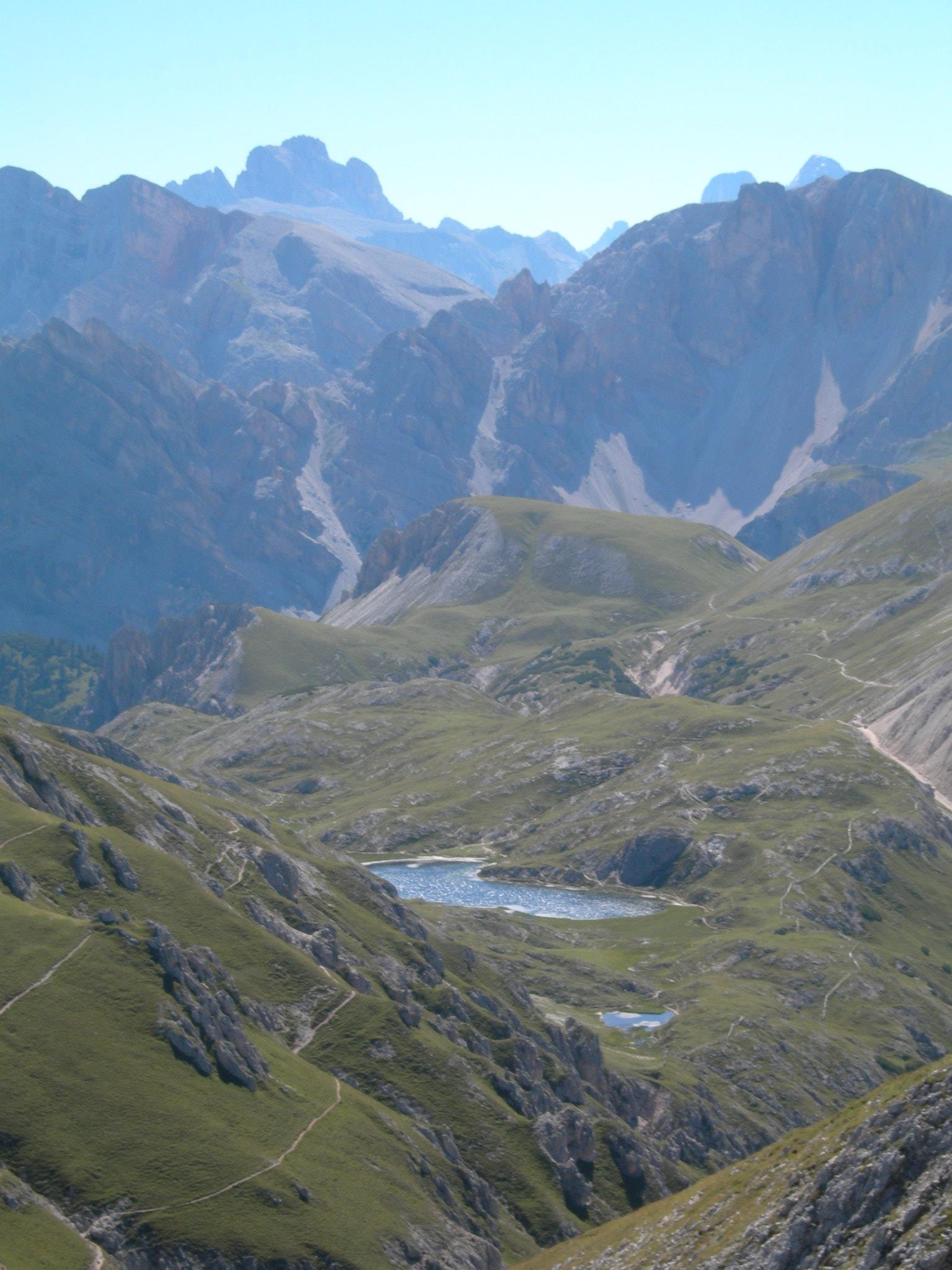 Lago dei Colli Alti - Tre dita