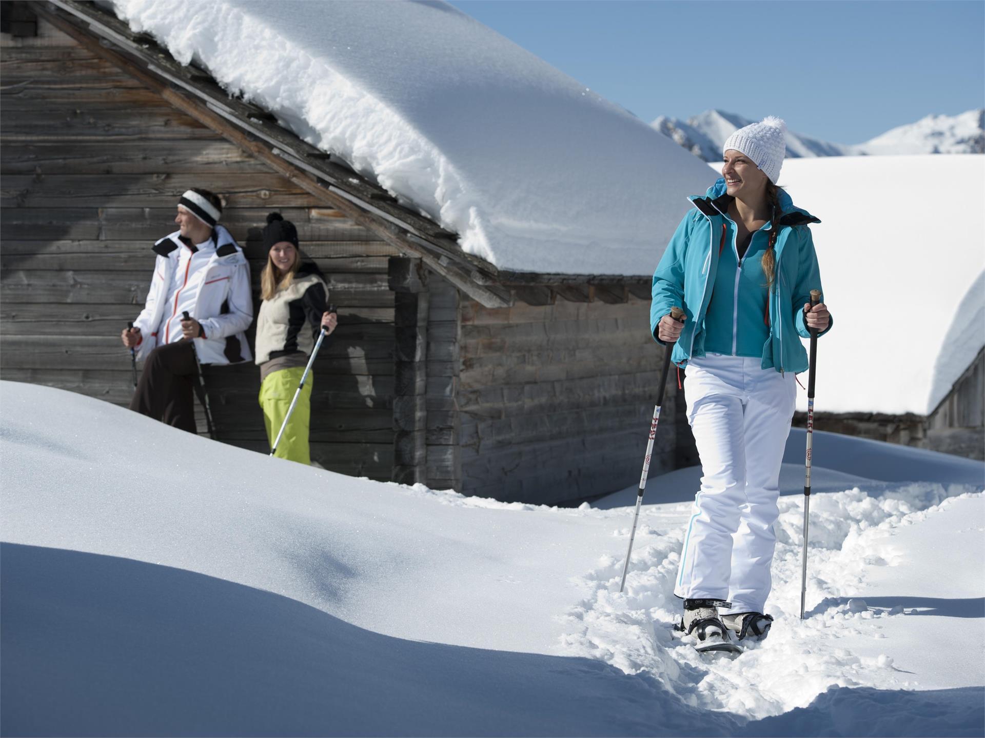 Schneeschuhwanderung auf das Astjoch