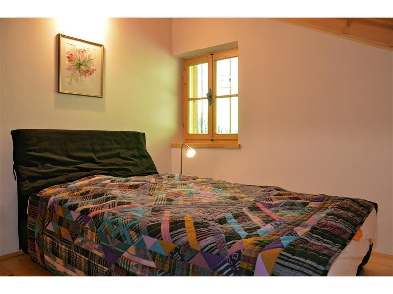 Schlafzimmer mit französischem Bett - Kohlstatt Hütte