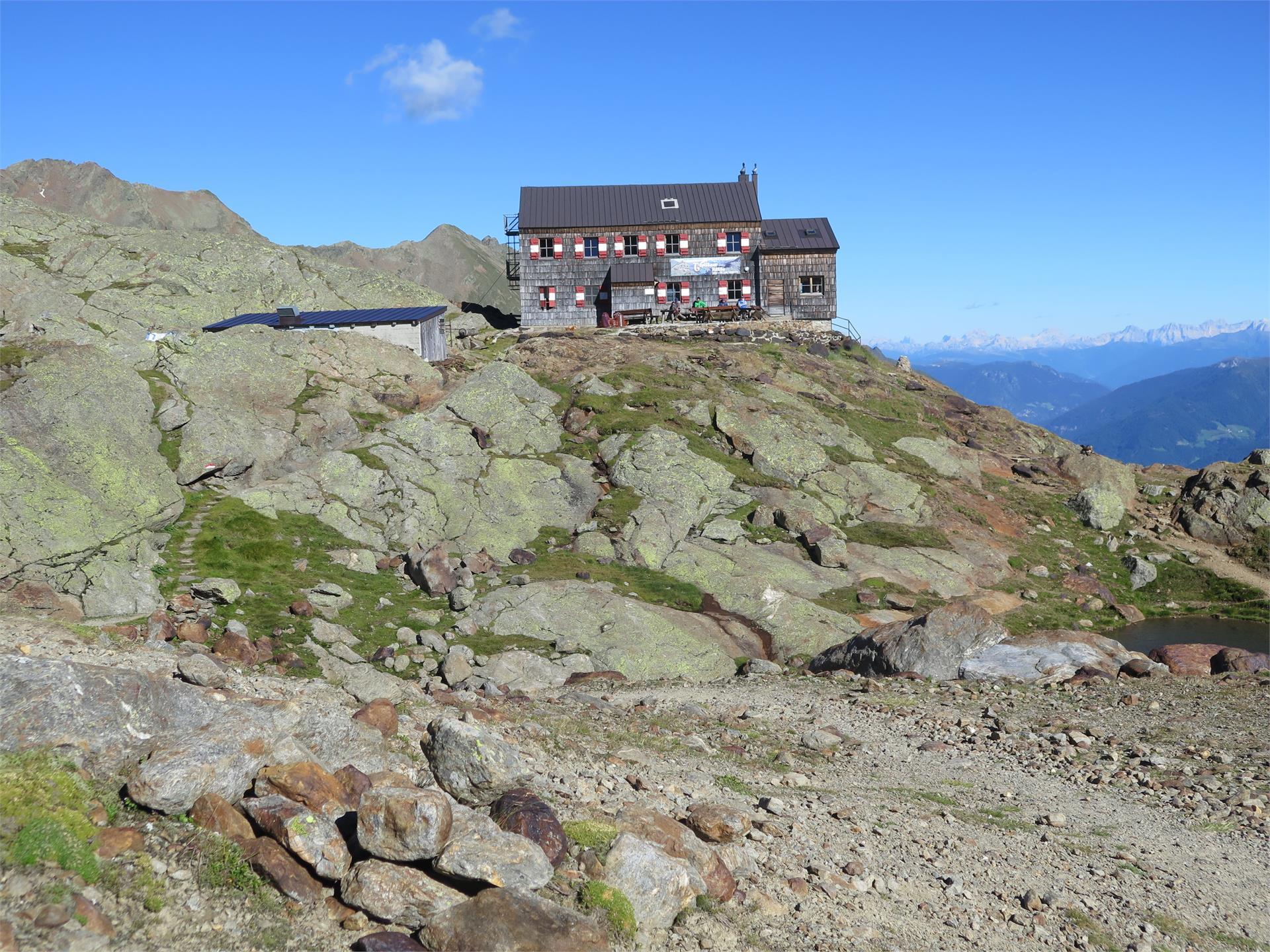 Alpine hut Teplitzerhütte