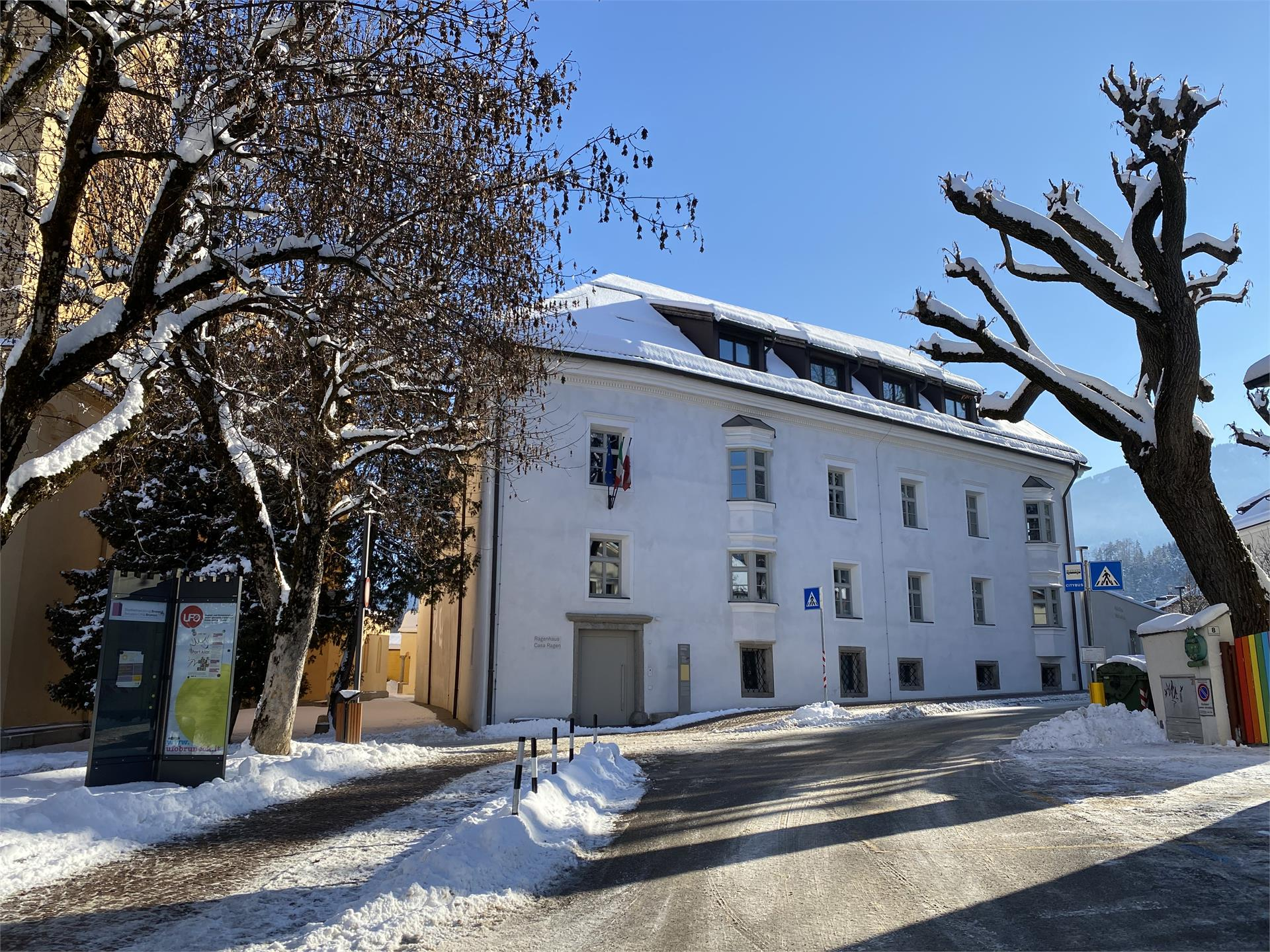 Music and literature at the Ragen House in Bruneck