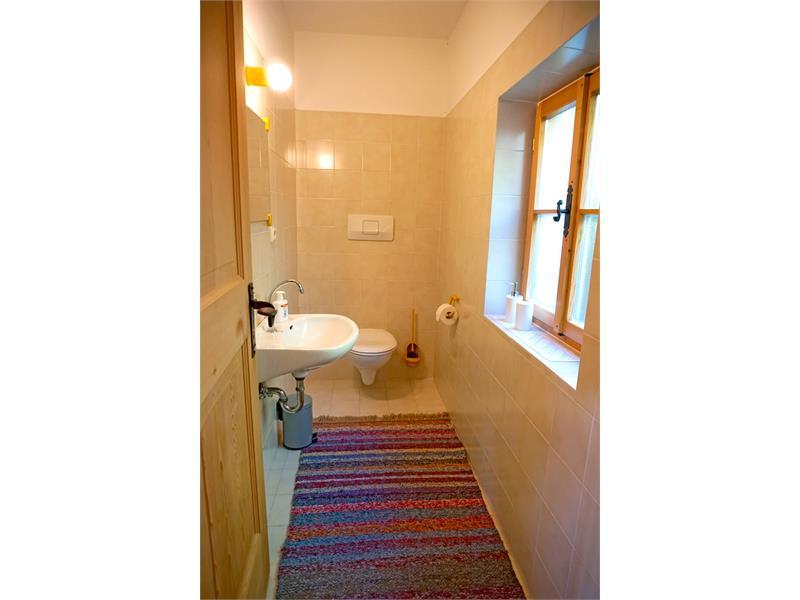 Badezimmer - Kohlstatt Hütte