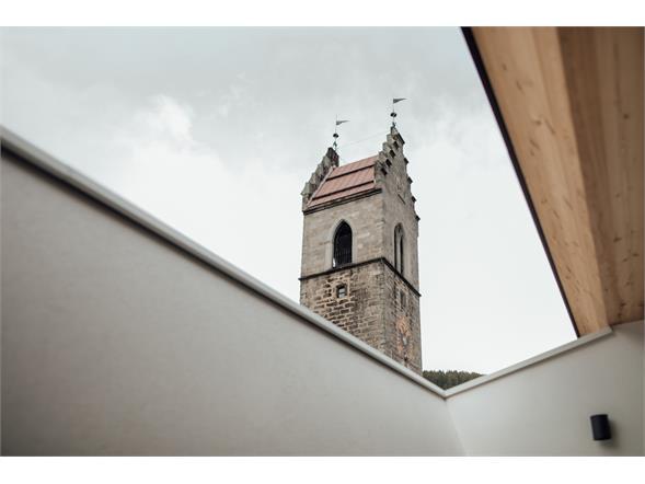 Vista sulla torre delle dodici
