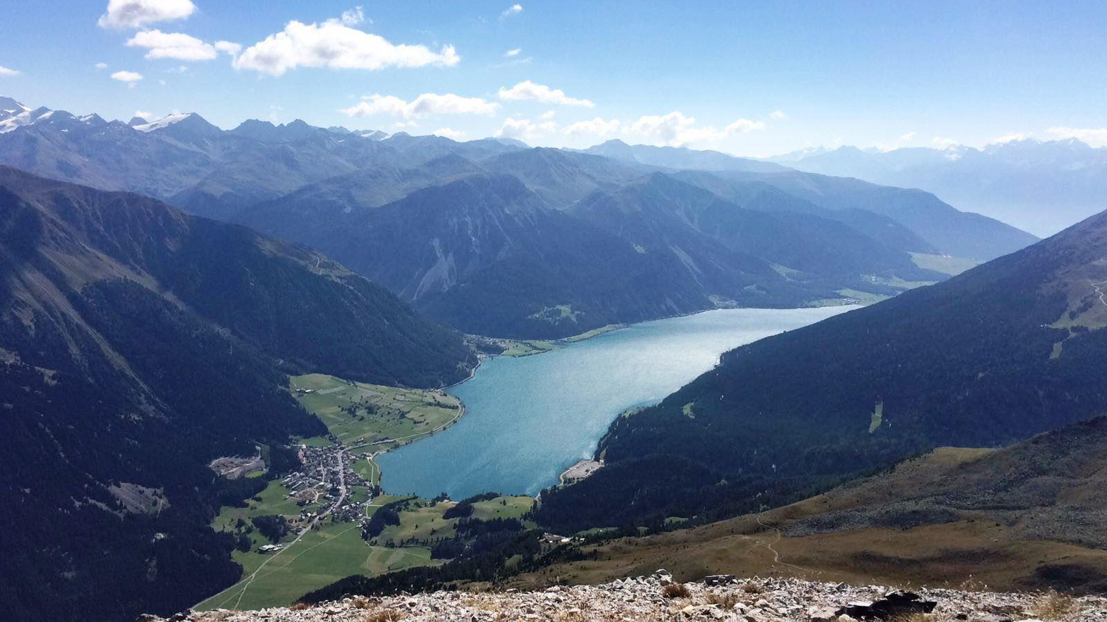 Panoramic view from Piz Lad