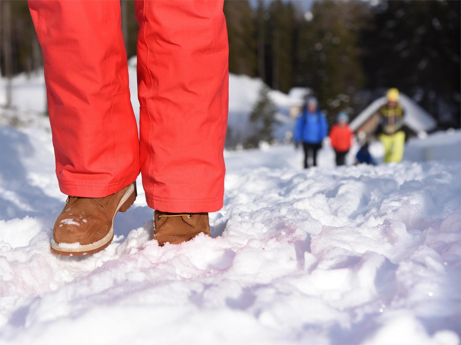 Passeggiata invernale - Braies Vecchia