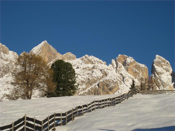 Un sogno invernale per gli escursionisti con le ciaspole