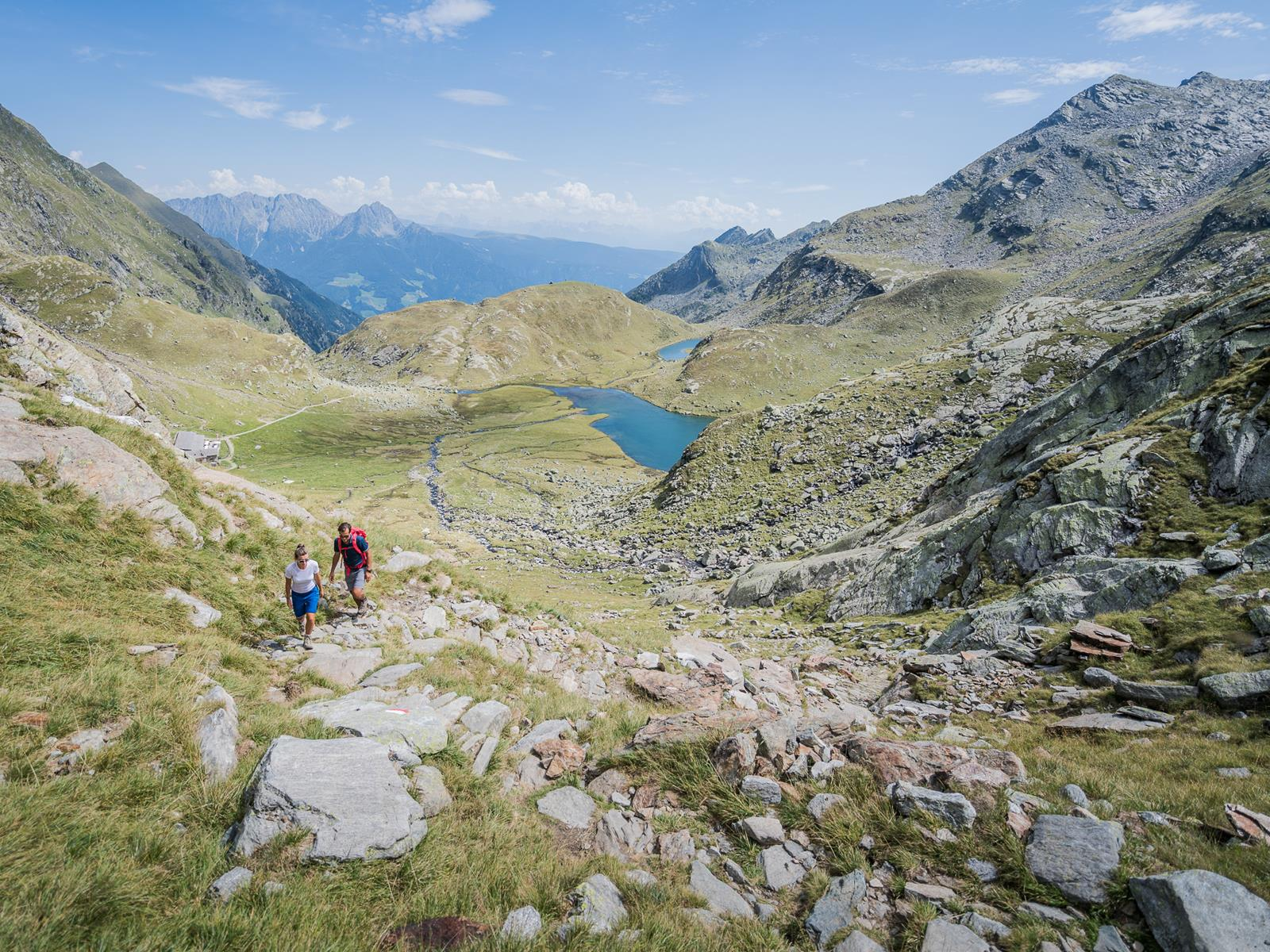 Alpine Tour to the Spronser Seen Lakes
