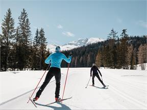 Conturines cross-country skiing slope