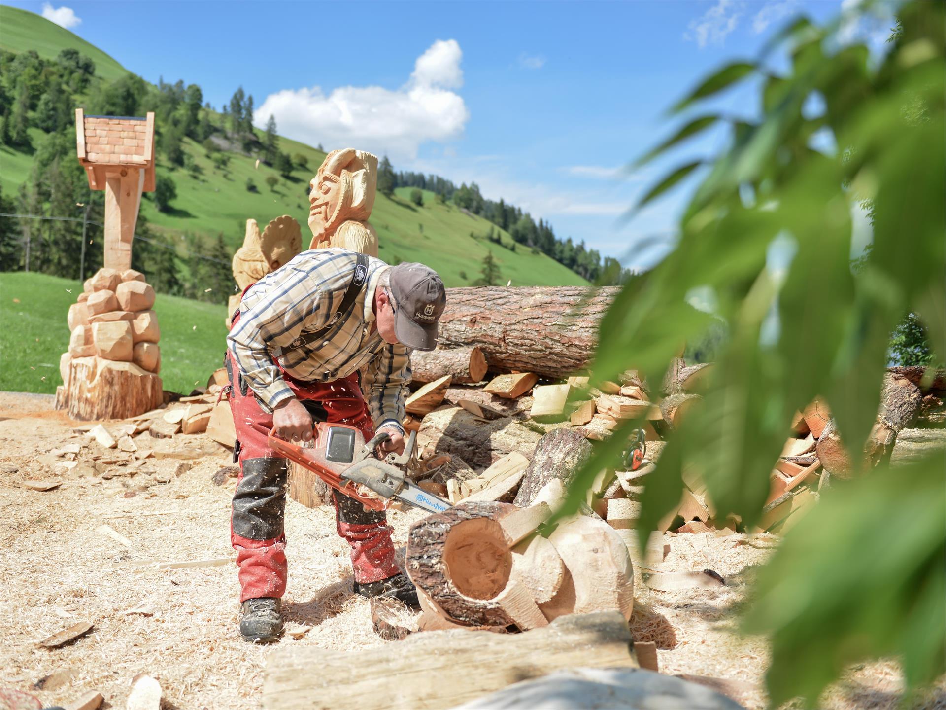 Dimostrazione lavorazione del legno