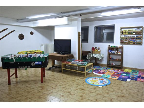Living and play room for kids
