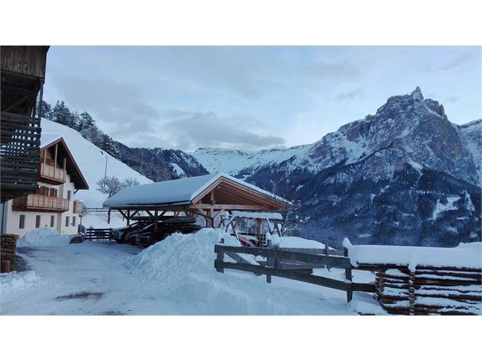 Winterwunderland mit Schlern