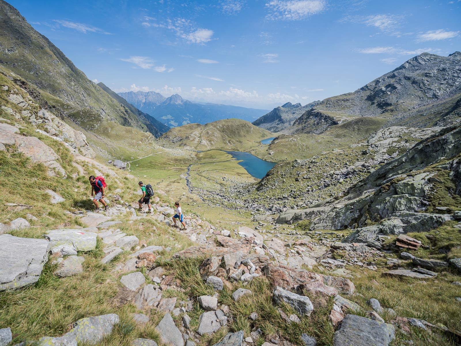 Bergtour über das Spronserjoch
