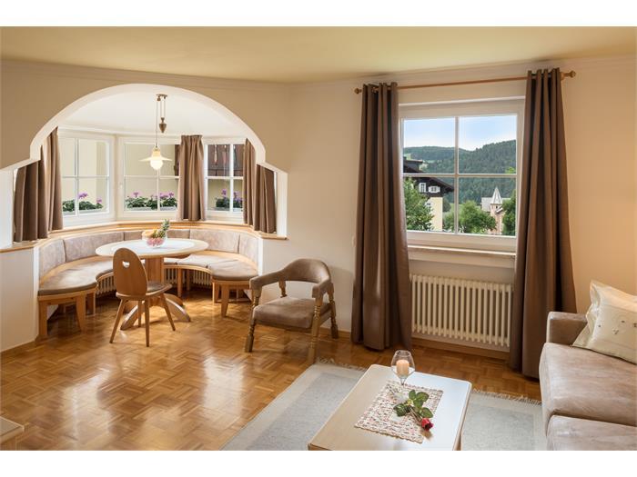 Appartement Edelweiss Wohnraum