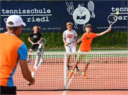 Tennisschule Gery Riedl mit Babolat Stützpunkt