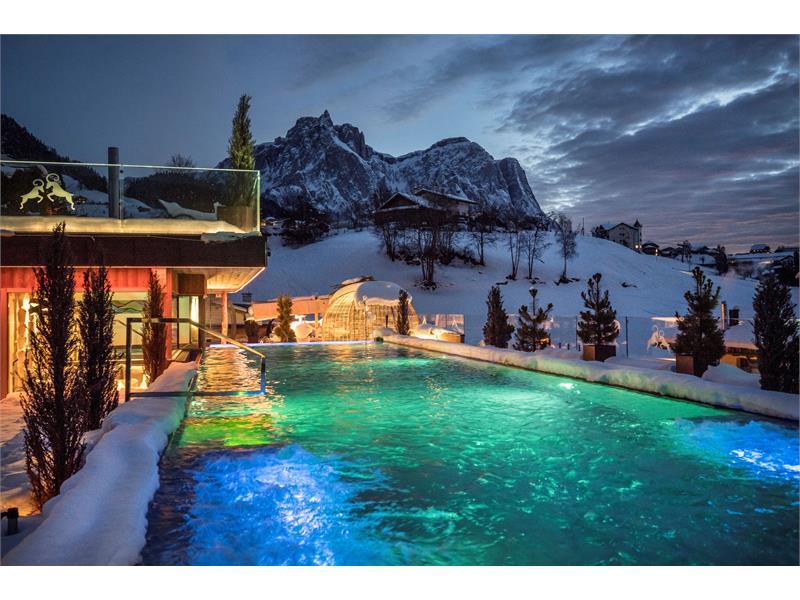 SKY Pool in the winter