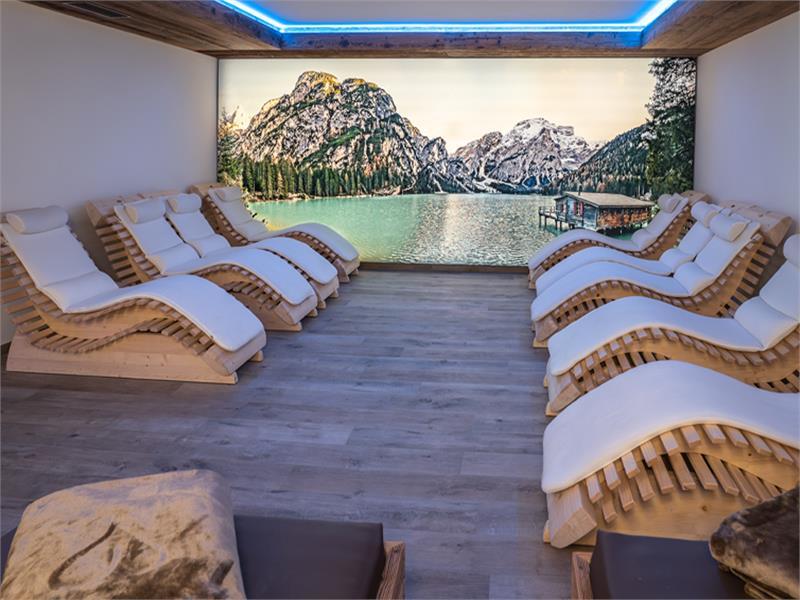 Sala relax benessere