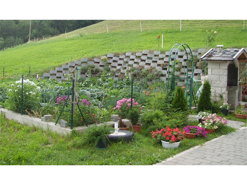Il nostro giardino contadino con verdure ed erbe aromatiche - Boznermüllerhof