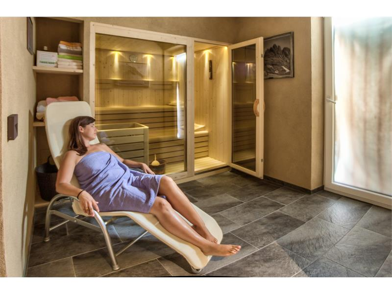 Relax in our new Sauna