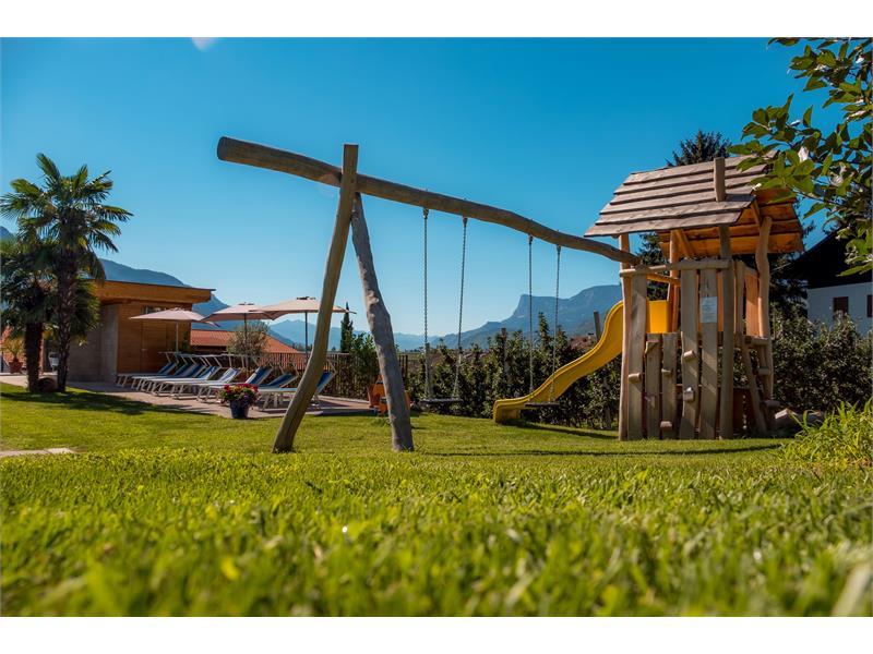 Parco giochi con panorama