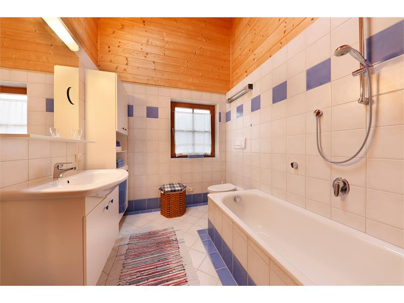 Badezimmer im Chalet Fuchsberger