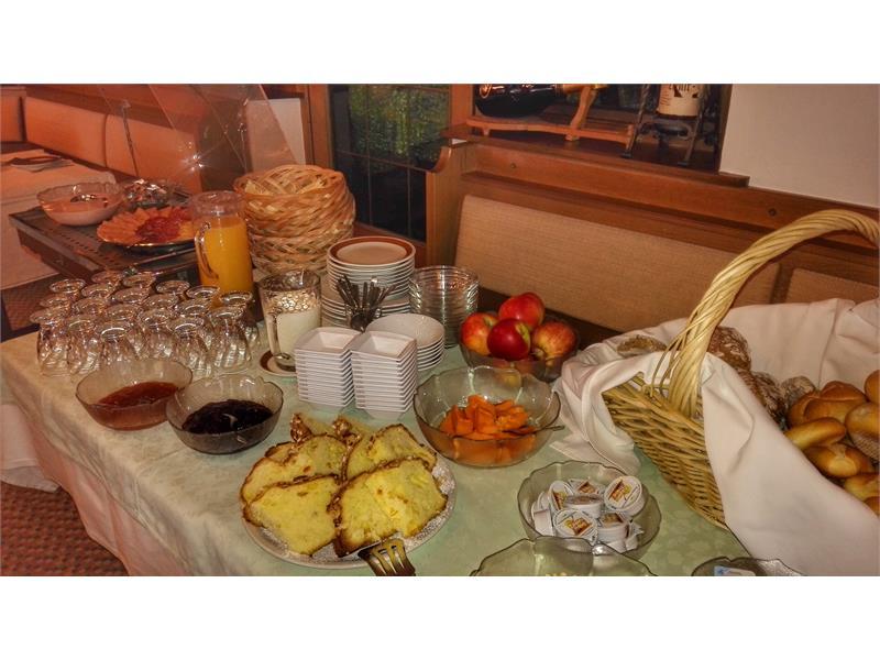 buffet per colazione
