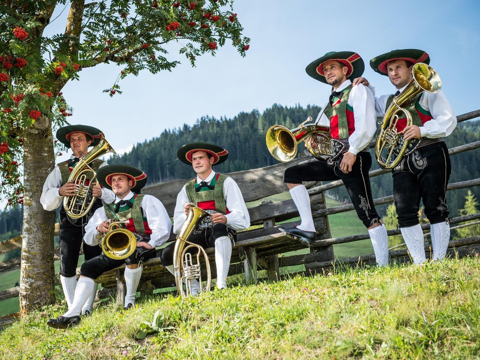 Concert of the music-band Enneberg
