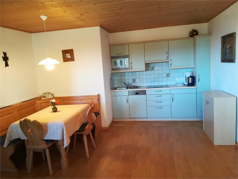 Cucina - soggiorno appartamento Stella Alpin