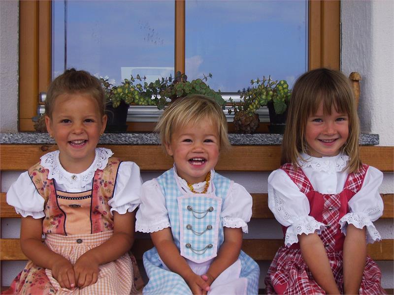 I bambini del maso Ganthalerhof