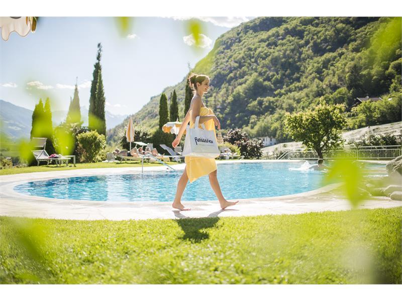 Garden & pool