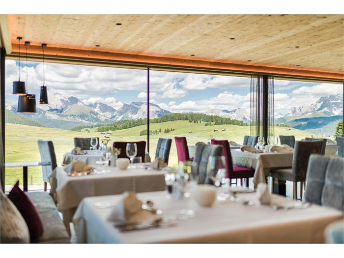 View from the dining room - Hotel Ritsch