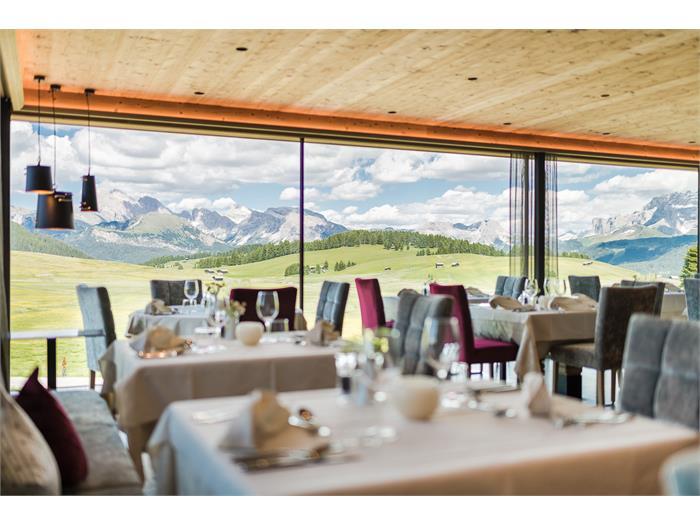 Vista dalla sala di pranzo - Hotel Ritsch