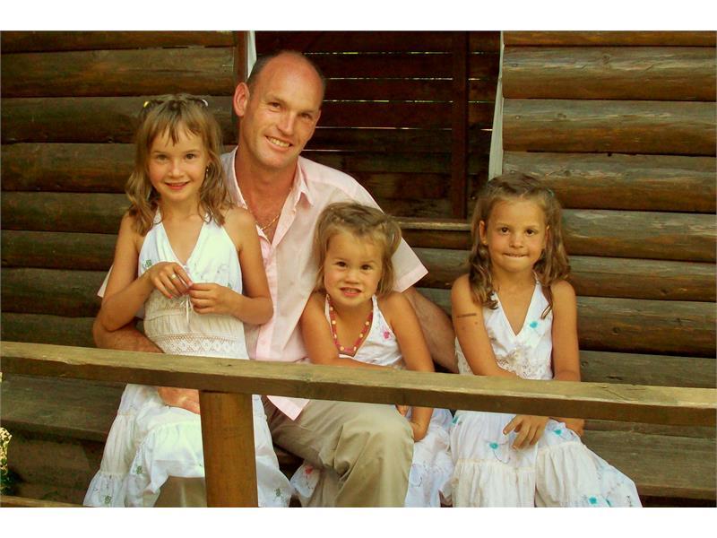 Famiglia Egger dal maso Ganthalerhof