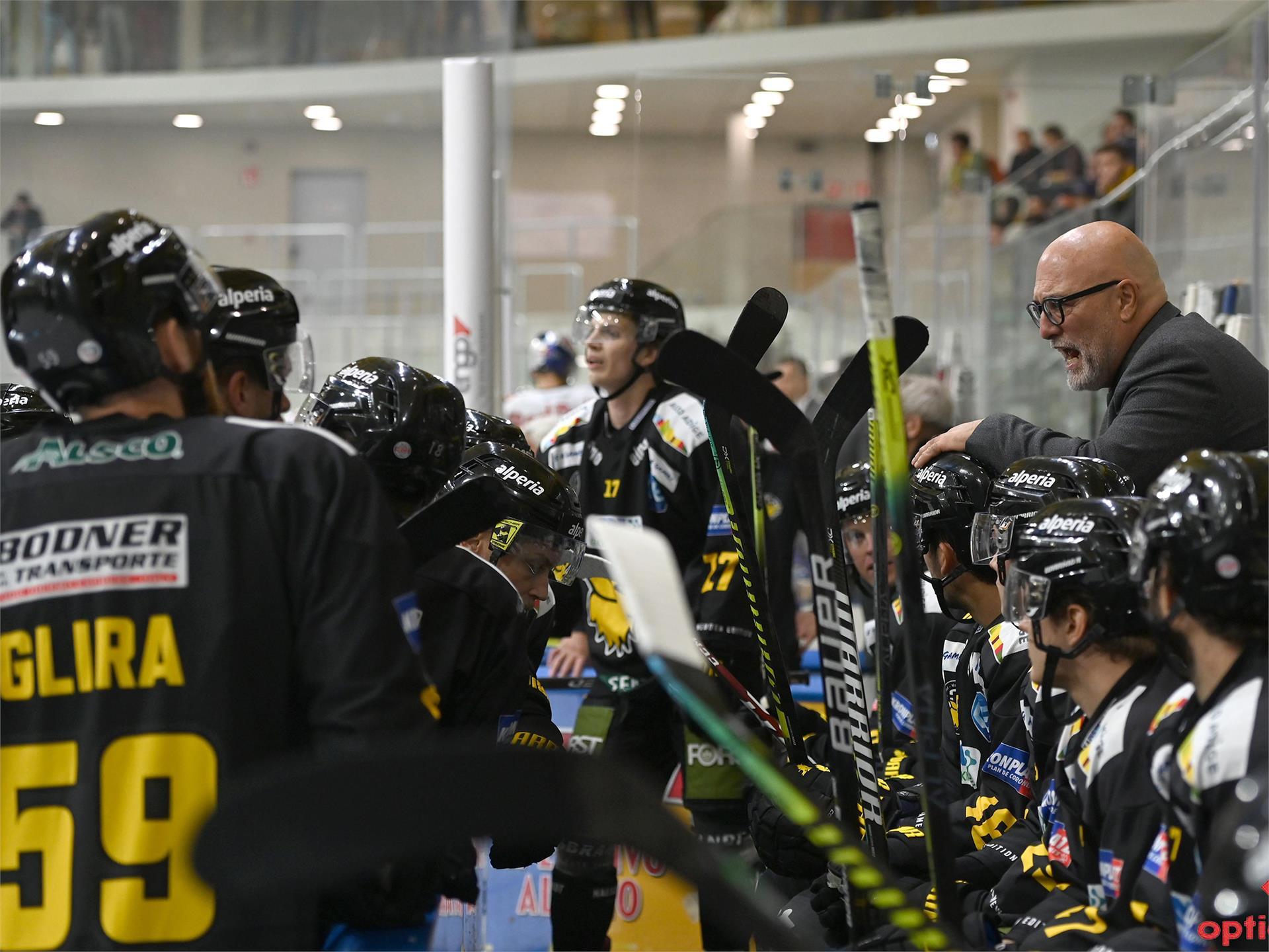 Partita di hockey su ghiaccio: HC Pustertal - HCB Südtirol Alperia