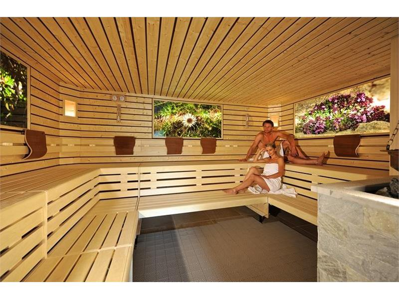 Sauna biologica alle erbe
