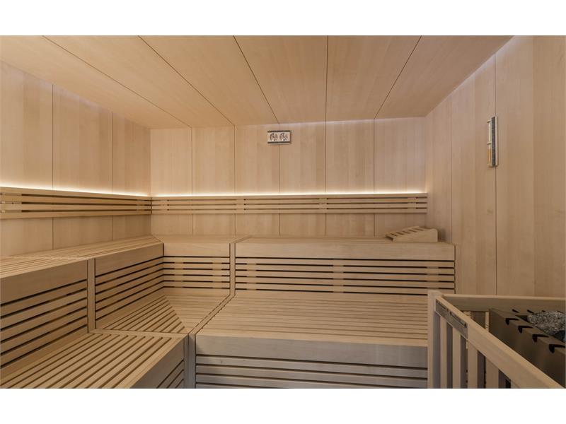Sauna finnlandese nell´Hotel Waldsee in Alto Adige