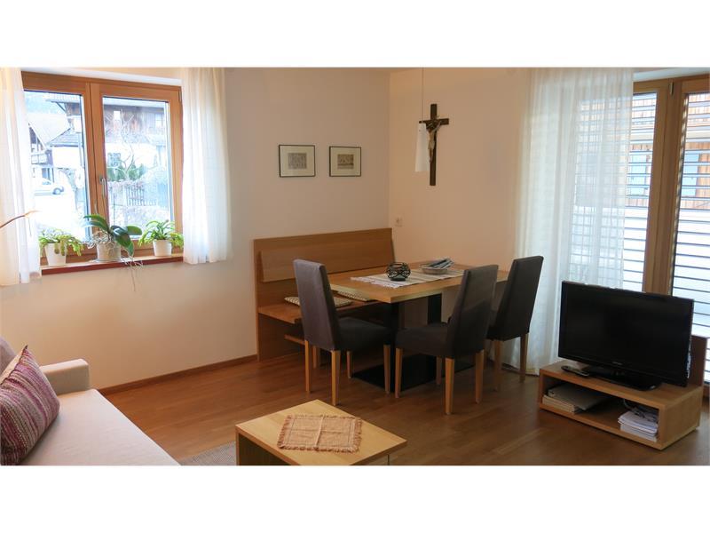 Apartments Schwarzlehen, Naturns, Tschirland, Hochwart, Wohn-Essraum