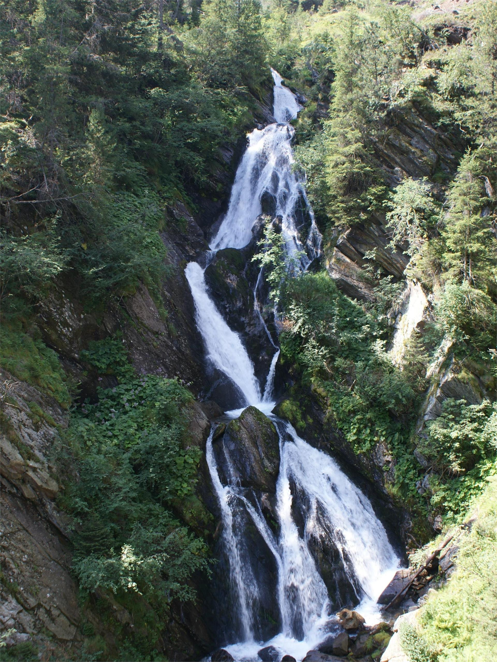 The Gurgl cascade