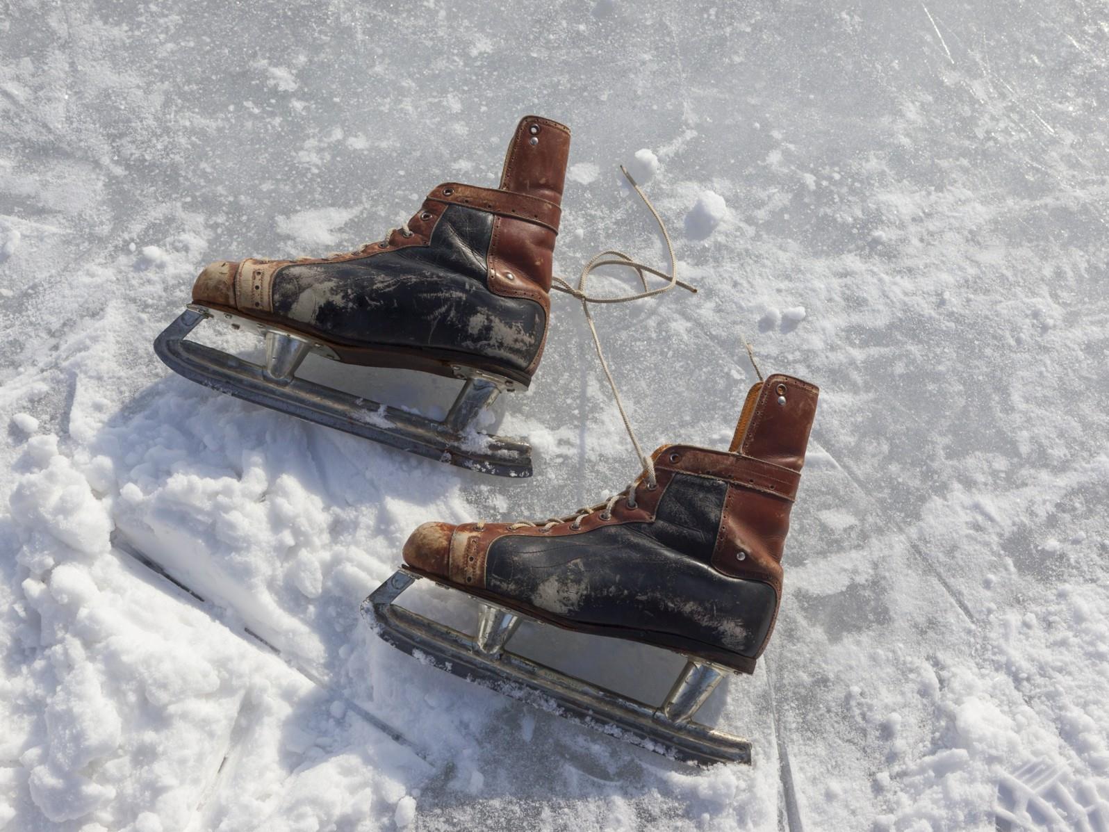 Eislaufen im Herzen von Schlanders