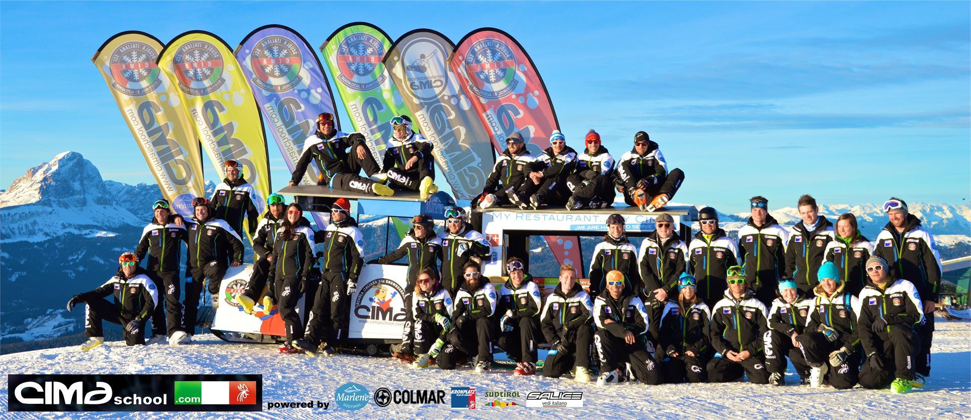 Ski & Snowboardschool Cima
