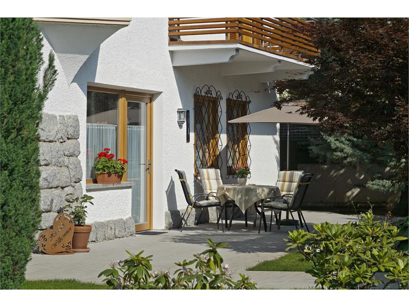 Gartenwohnung terrazza
