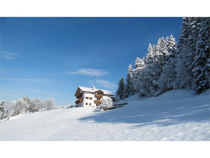 Bauernhof Grunserhof im Winter