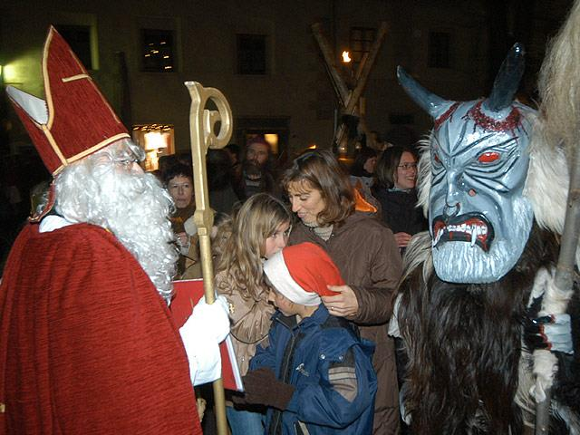 Nikolausumzug in Glurns