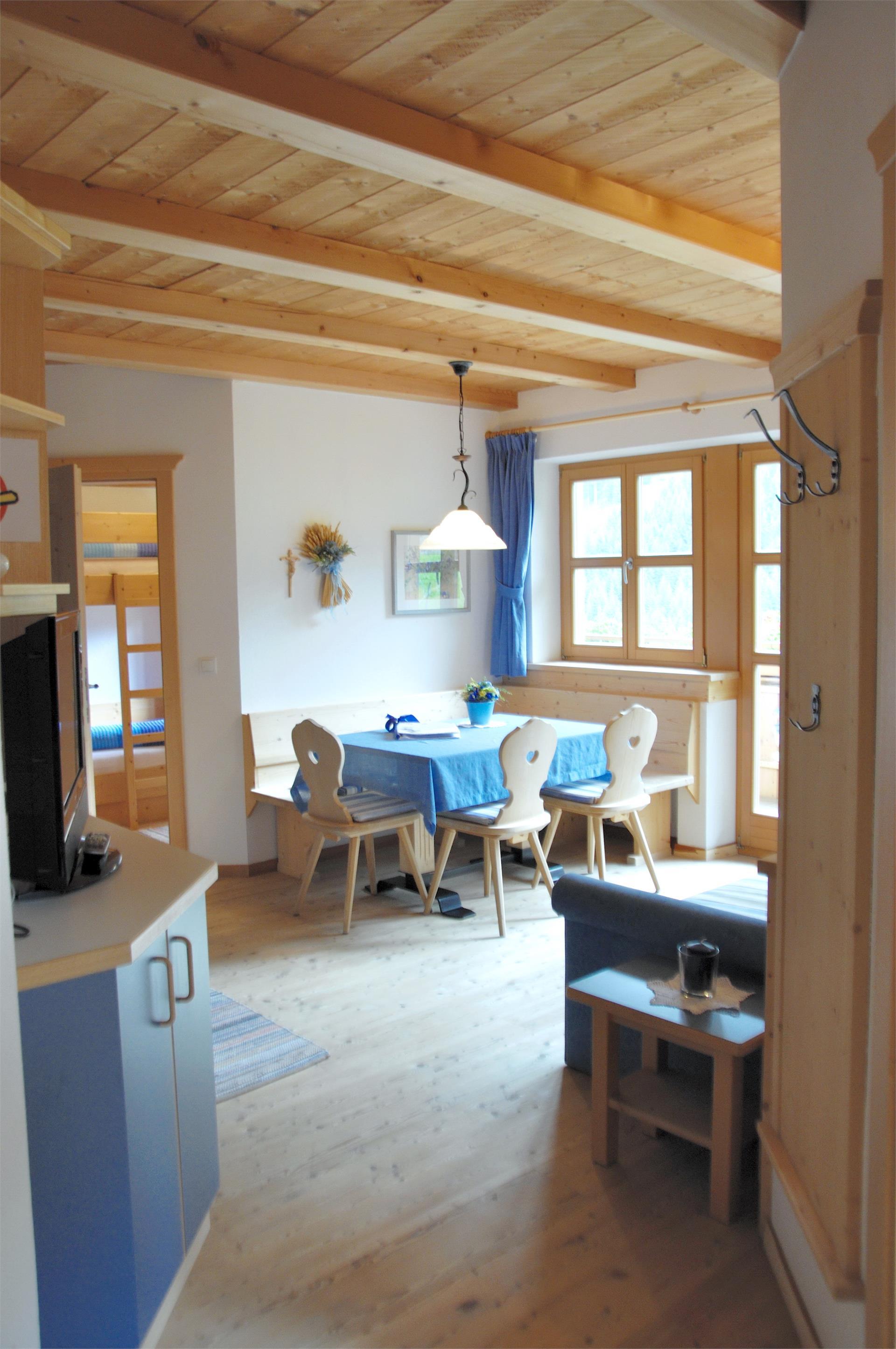 Wohnküche Appartement Enzian