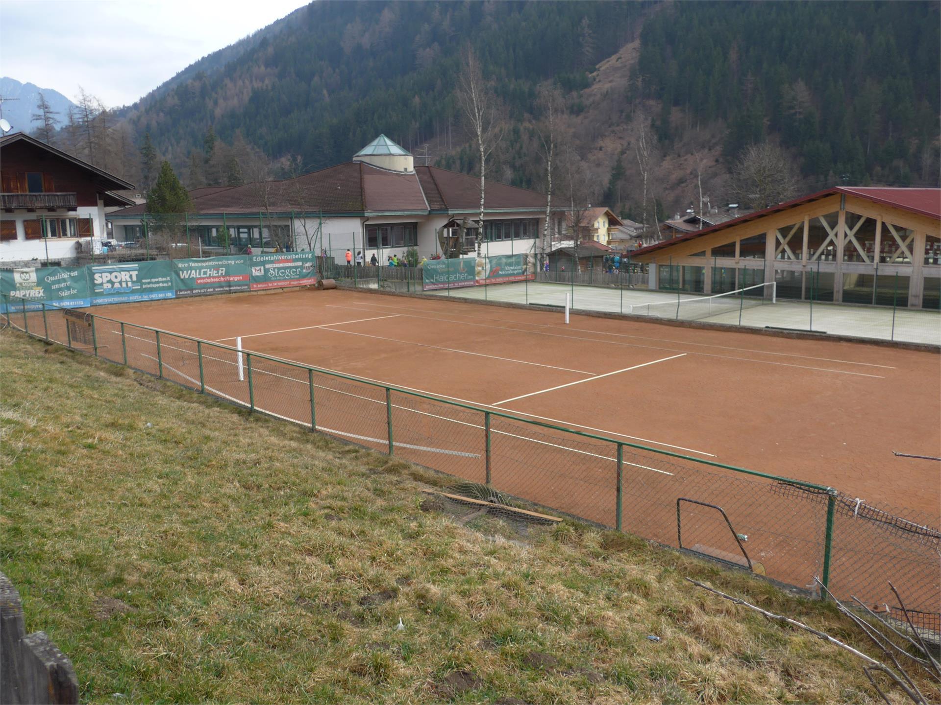 Tennisplatz Luttach