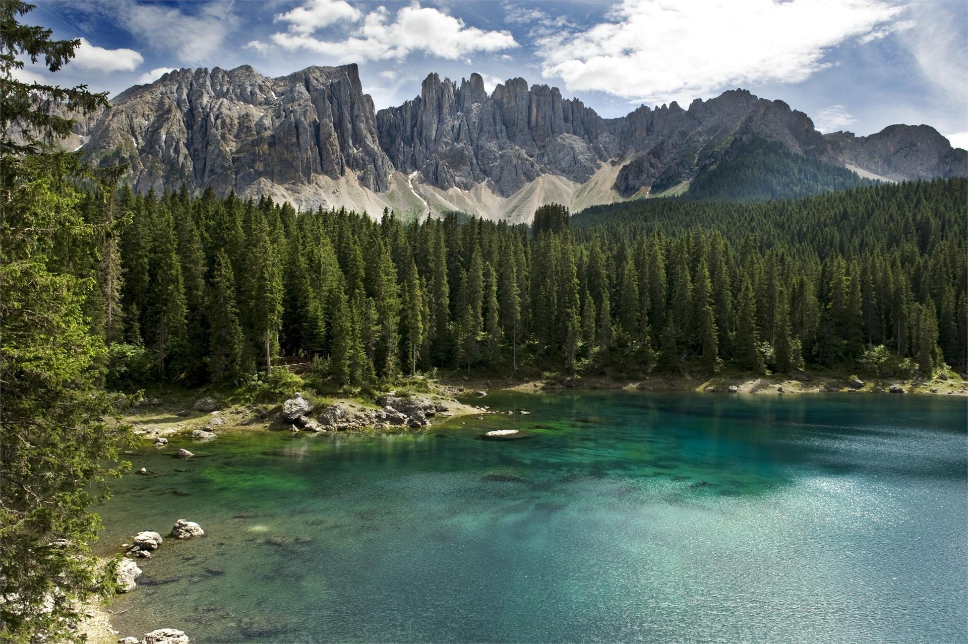Lake of Carezza Latemar