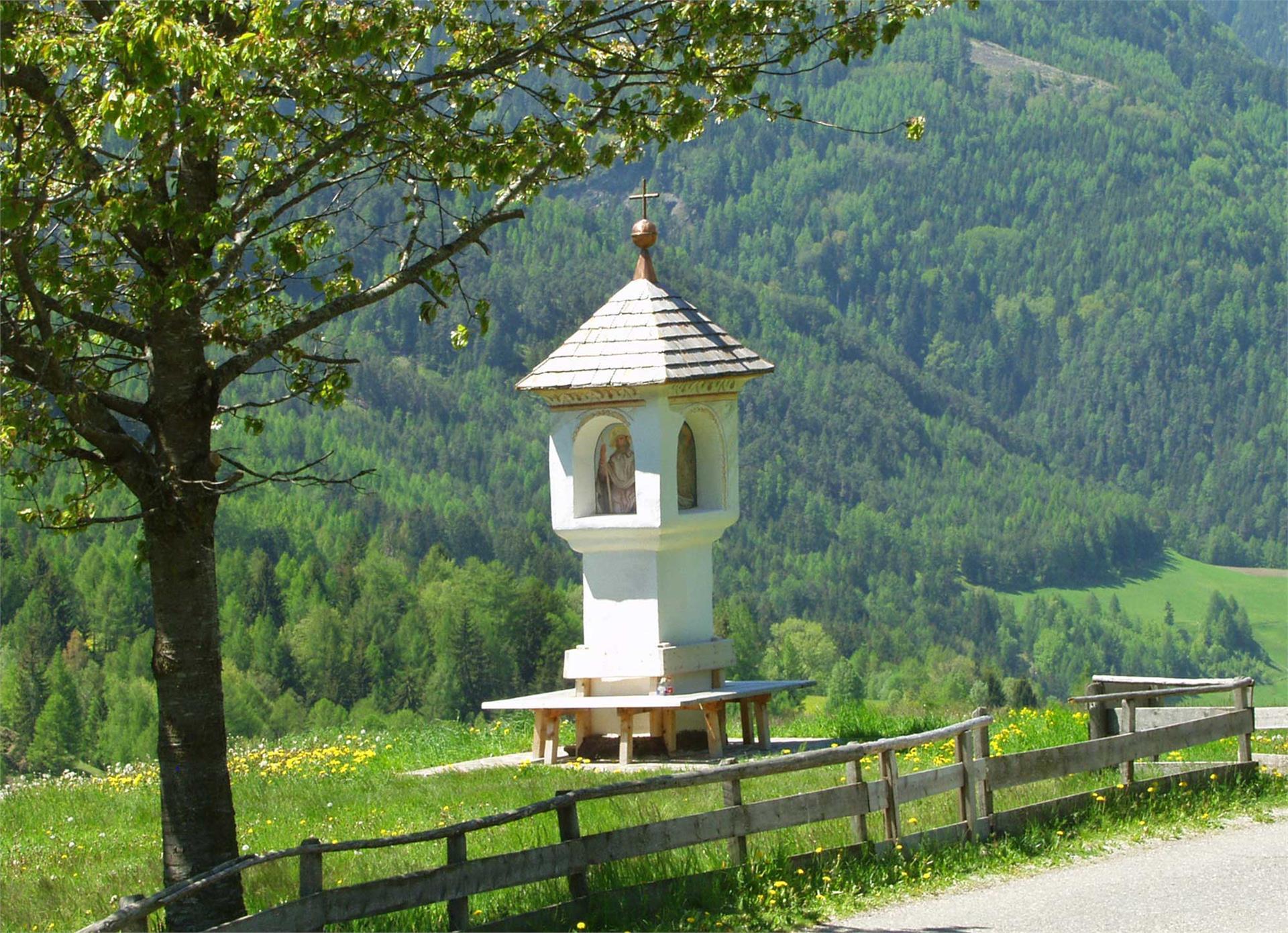 Wayside shrine at the sun trail