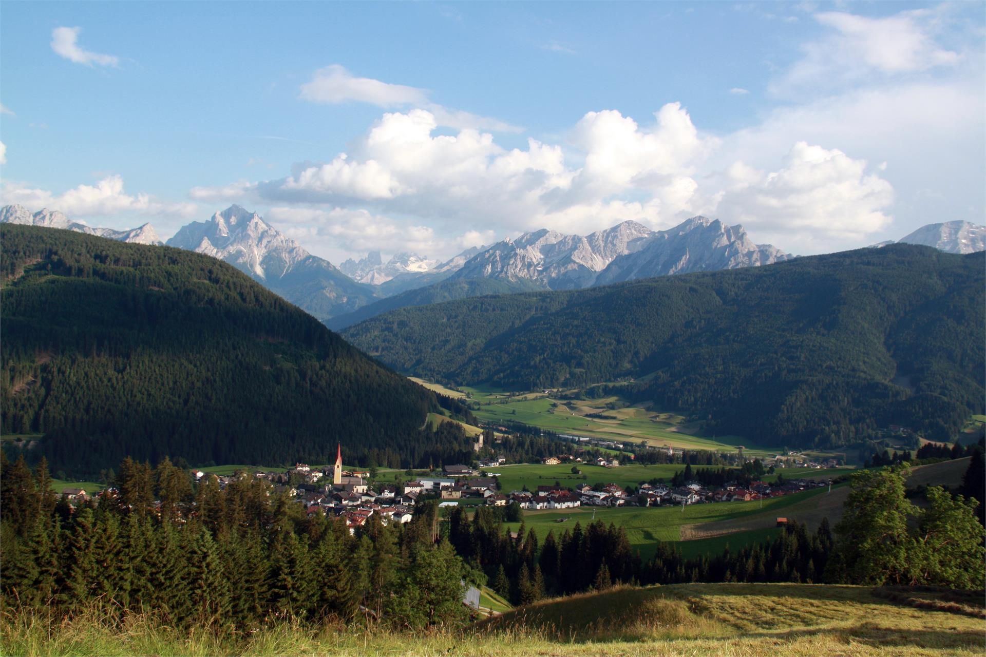 Wanderung zum Berggasthof Mudlerhof in Taisten