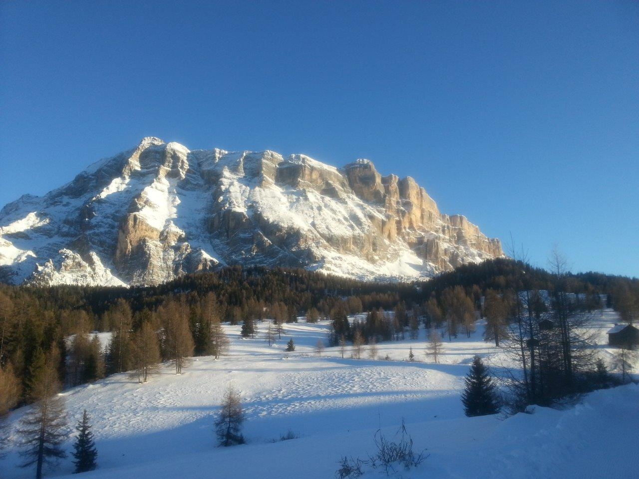 Winter Hike from La Val to La Cialciara and Santa Croce