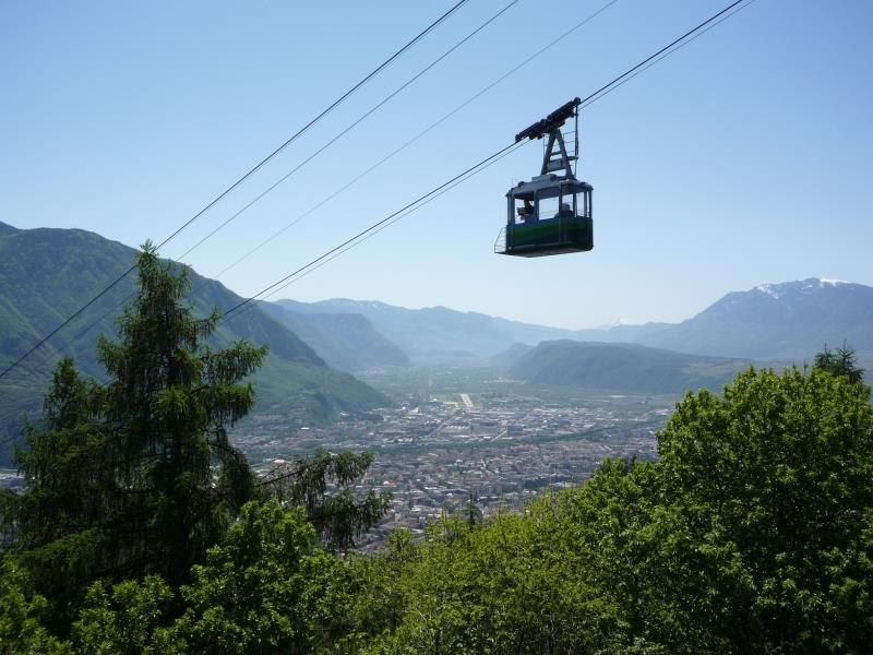 San Genesio / Jenesien cable car