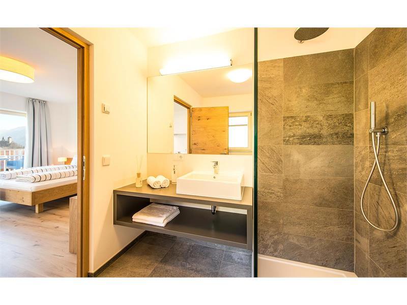 camera da bagno appartamento Vigilius